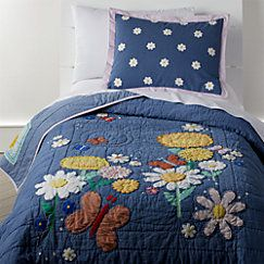Photo of Flower Child Toddler Bedding | Crate and Barrel