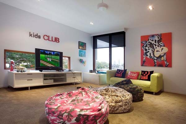 Australian Island Dream House: The Amalfi Residence By BGD Architects · Kids  Living ...