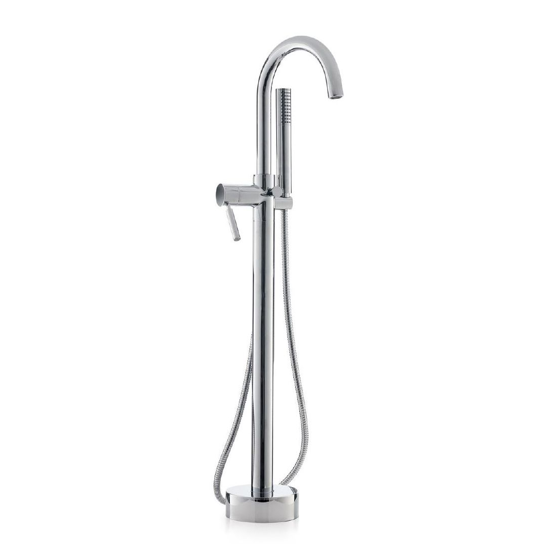 Cheviot 7550 CONTEMPORARY Free Standing Bathtub Filler with Hand ...