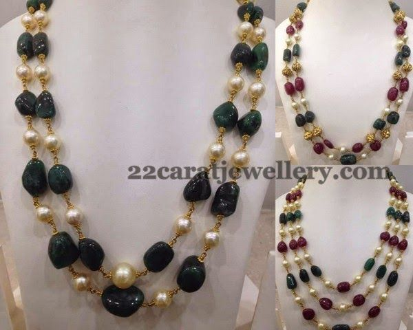 gold anvi beads buy ncgd green chains s gg necklace in chain india