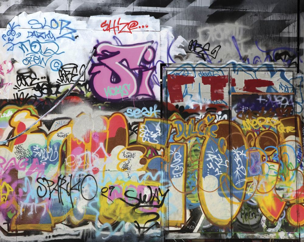 Graffiti wallpaper mural ohpopsi pop art u graffiti wall murals