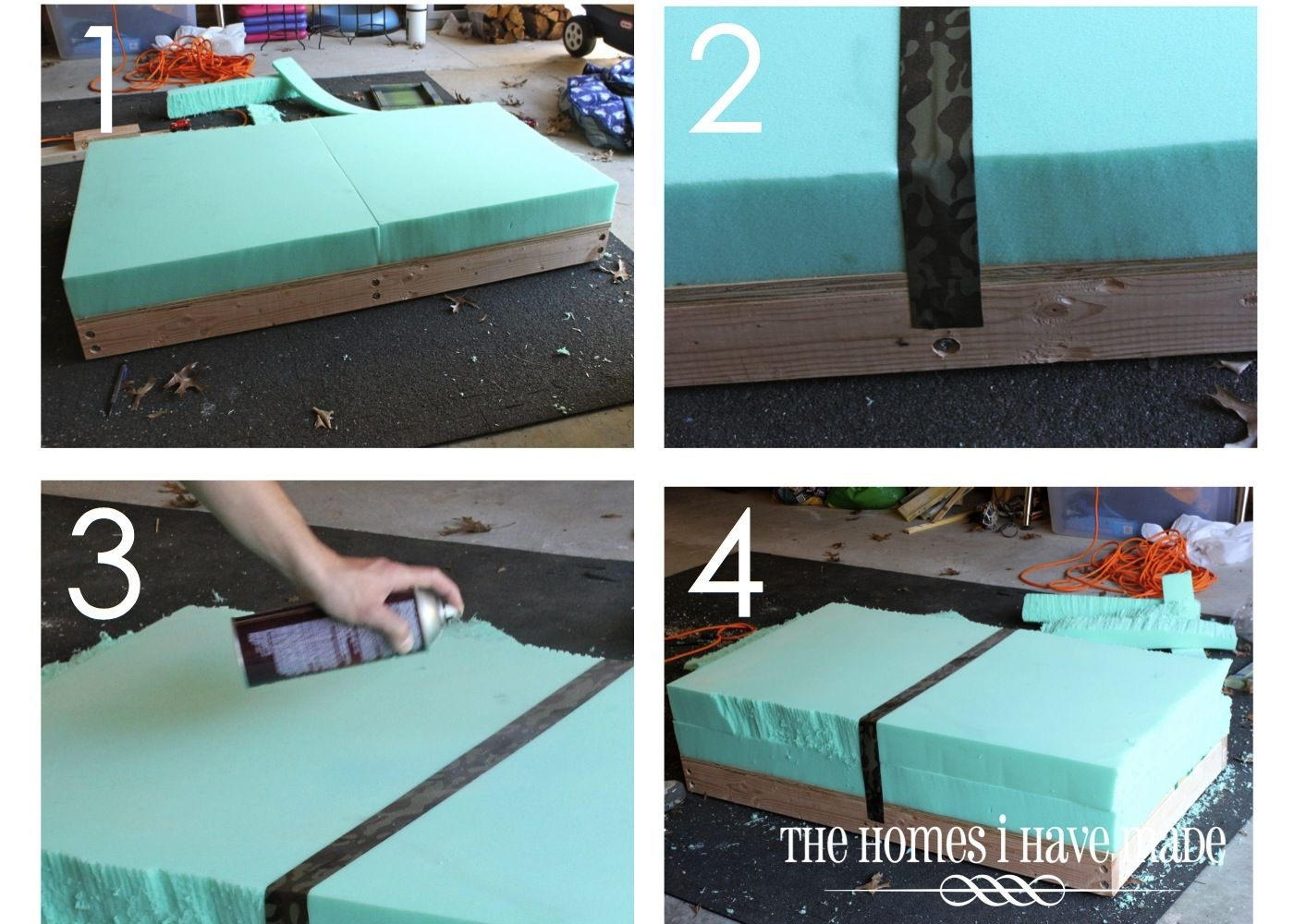How To Make An Oversized Ottoman Tutorial The Homes I Have