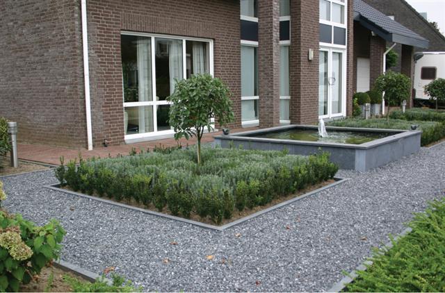 Voortuin idee n tuin pinterest backyard landscaping for Ideeen voortuin