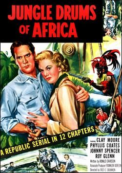 Jungle Drums of Africa 1953 (Back drop East Africa)