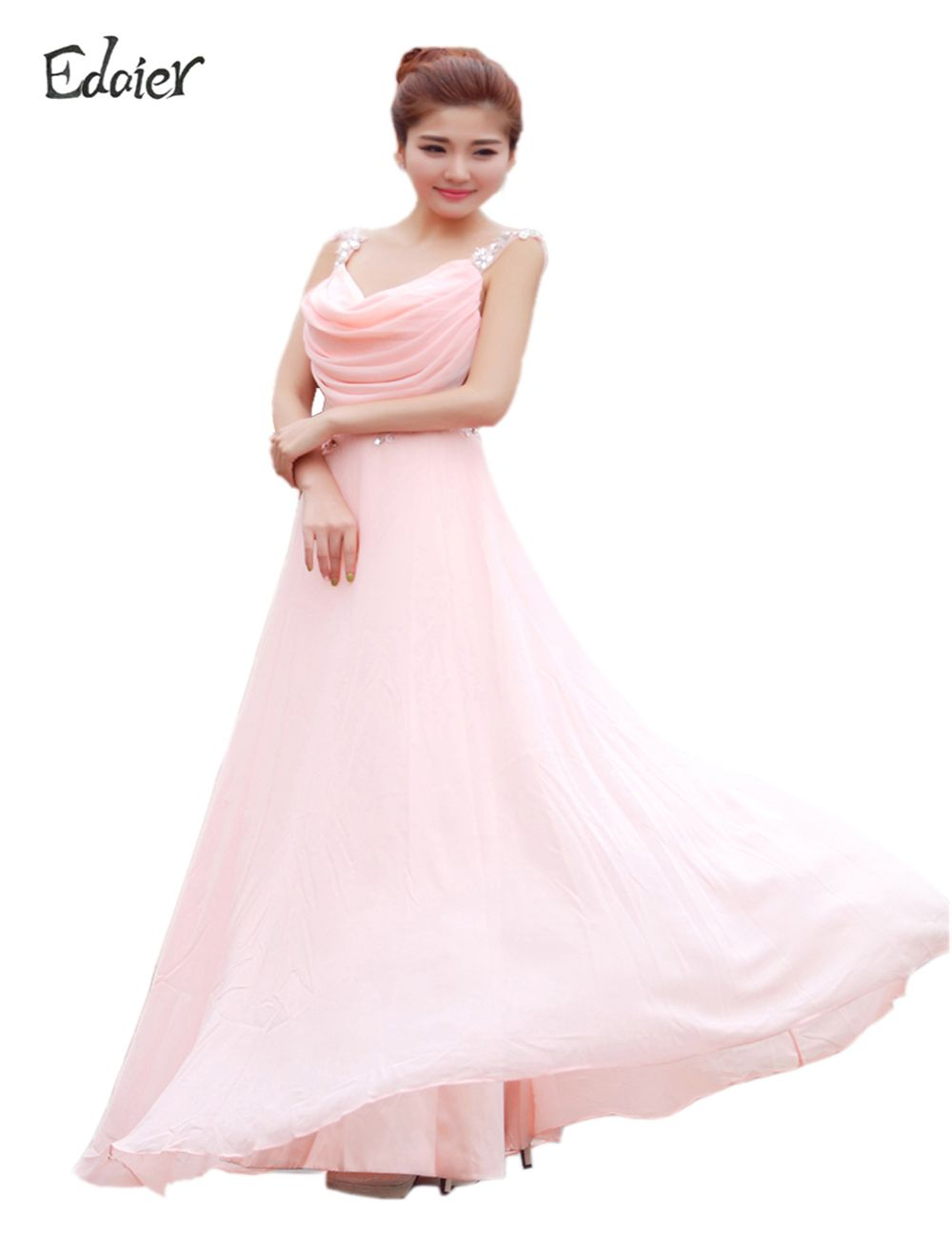 Free Shipping Buy Best Edaier Beautiful Cheap Chiffon Long light