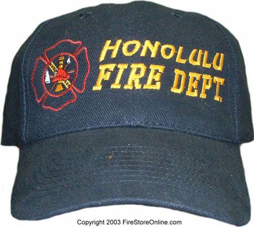 Honolulu Fire Dept Hat Firefighter Gear Bag Tactical Boots Firefighter Gear
