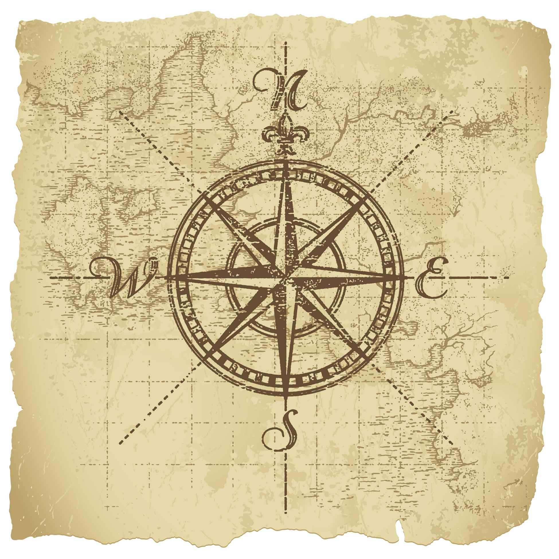 vintage compass design - Google Search | Projects to Try ...