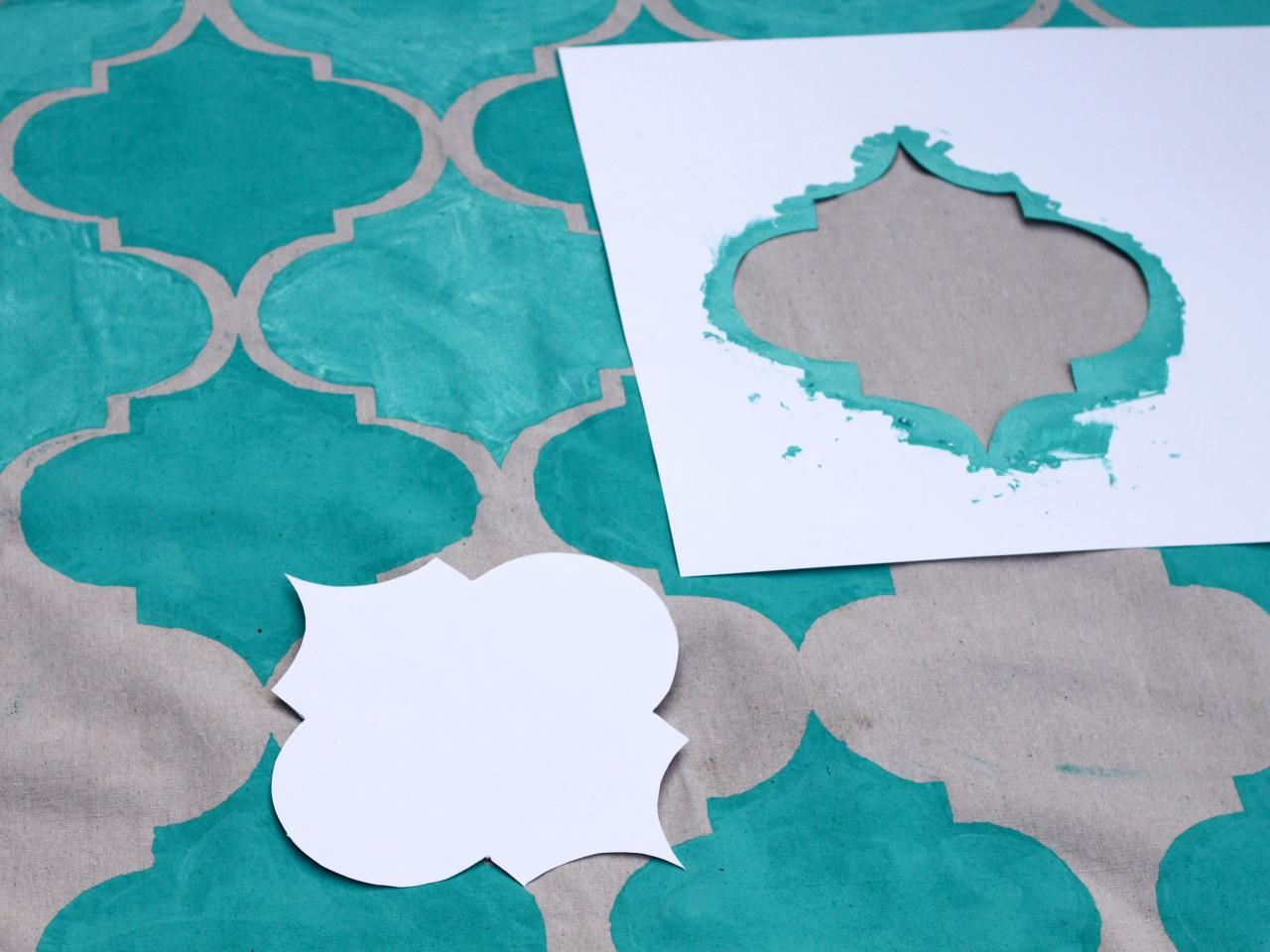 How To Turn A Canvas Drop Cloth Into An Outdoor Rug Canvas Drop
