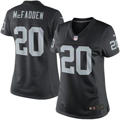 Nike Darren McFadden Oakland Raiders Women's Limited Jersey ...