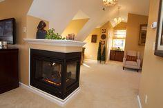 Fireplace Half Wall Google Search Half Walls Fireplace New Homes