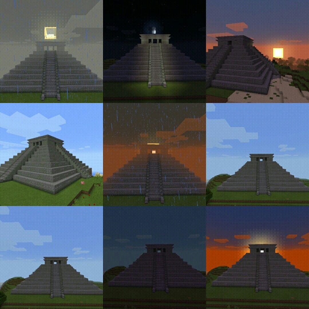Vistas De Piramide Maya Kukulcan En Chichent Itza Situado En  # Muebles Kukulcan