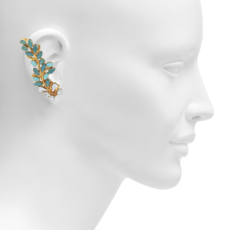 Boucle d'oreille Crystals by JOANNA LAURA CONSTANTINE