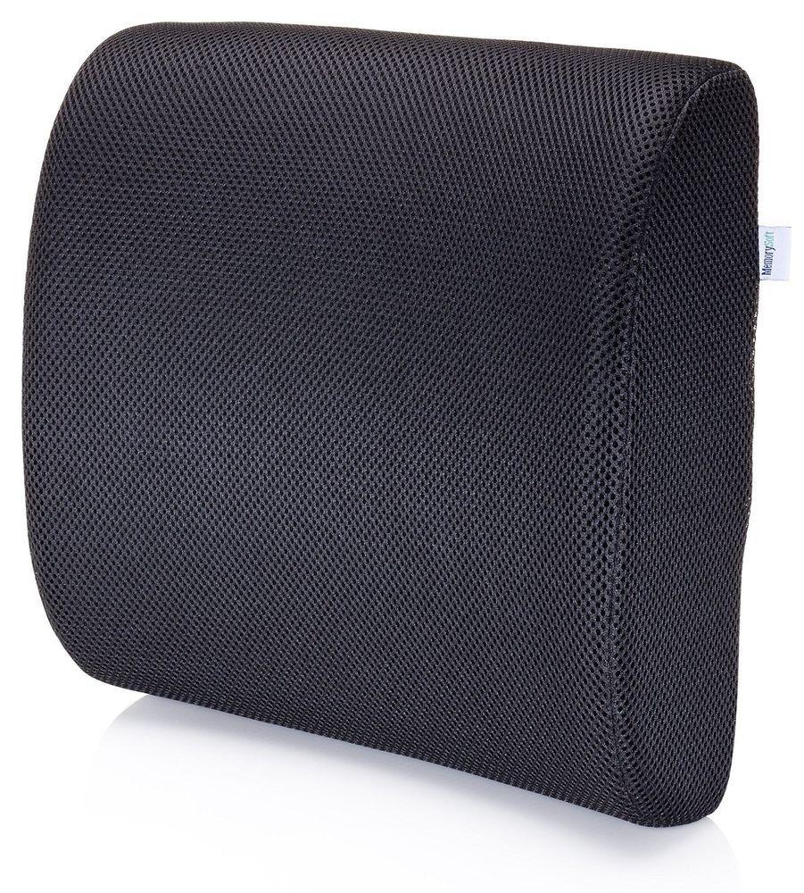 Task Chair W//Black//Grey Fabric Lumbar Support Memory Foam