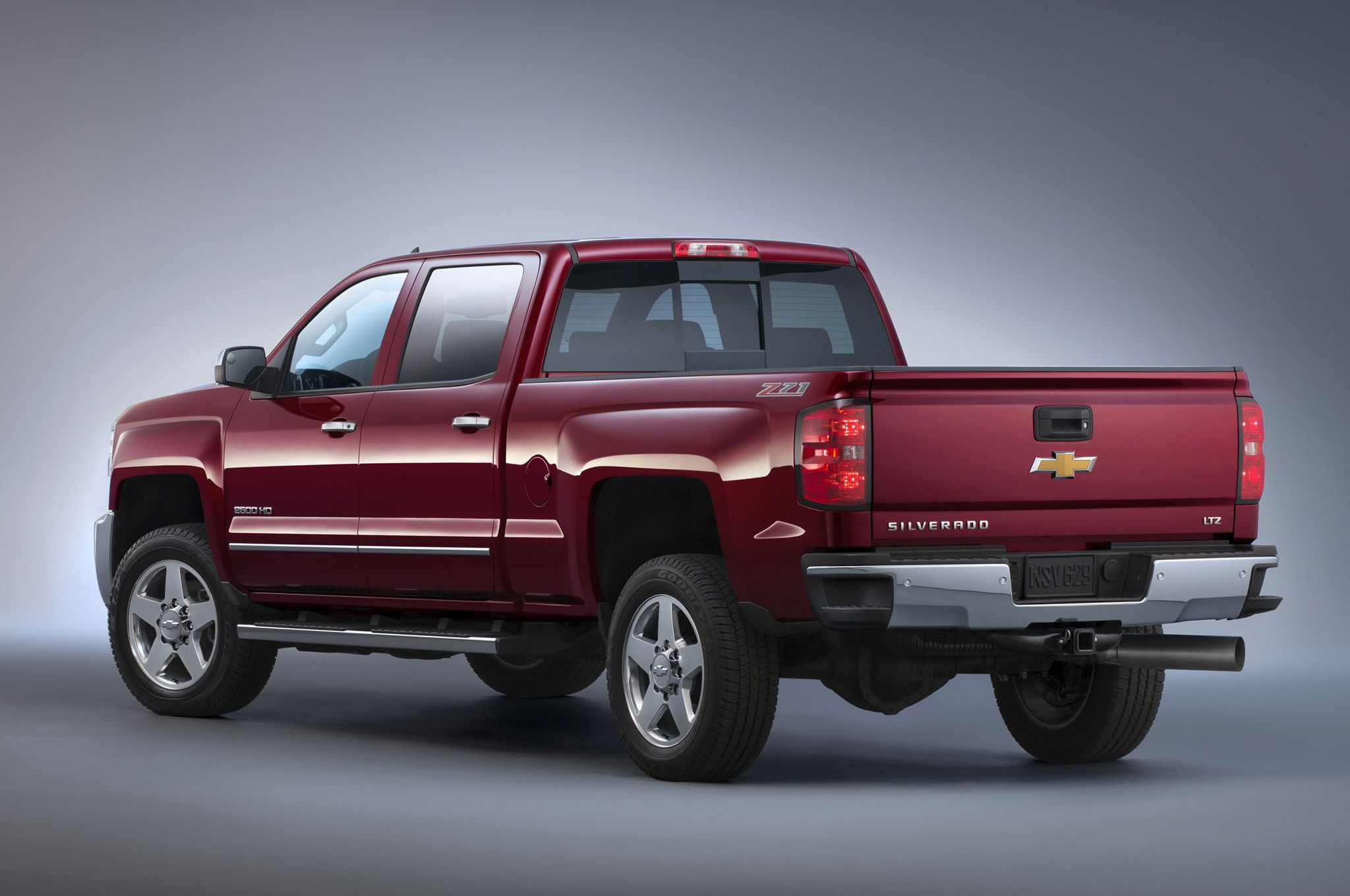 2015 Chevrolet Silverado 2500hd Ltz Z71 Rear View Chevrolet