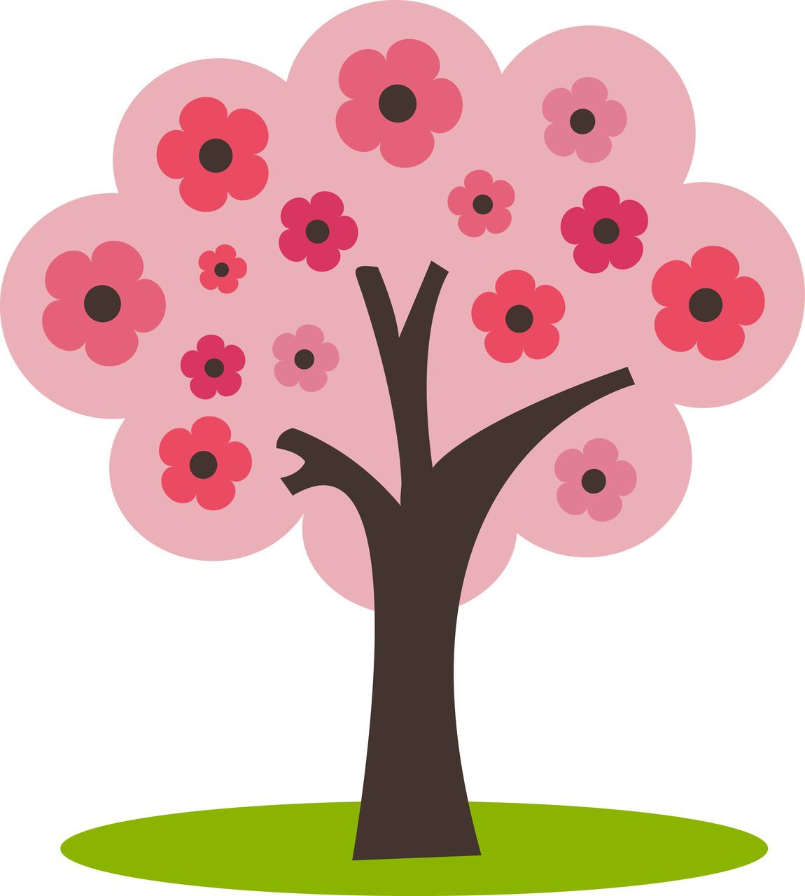 Ppbn Designs Tree With Flowers 0 50 Http Www Ppbndesigns