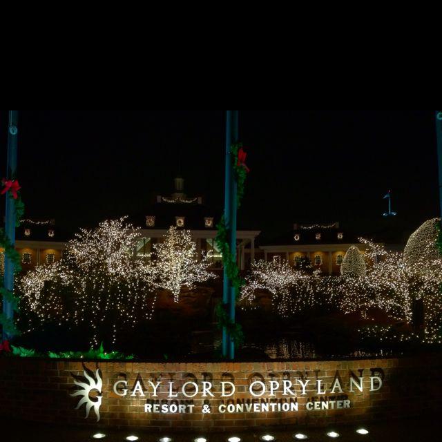 Opryland Hotel - Nashville Tn