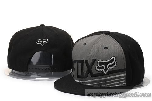 Fox Snapback Hats Black Gray|only US$20.00 - follow me to pick up couopons.