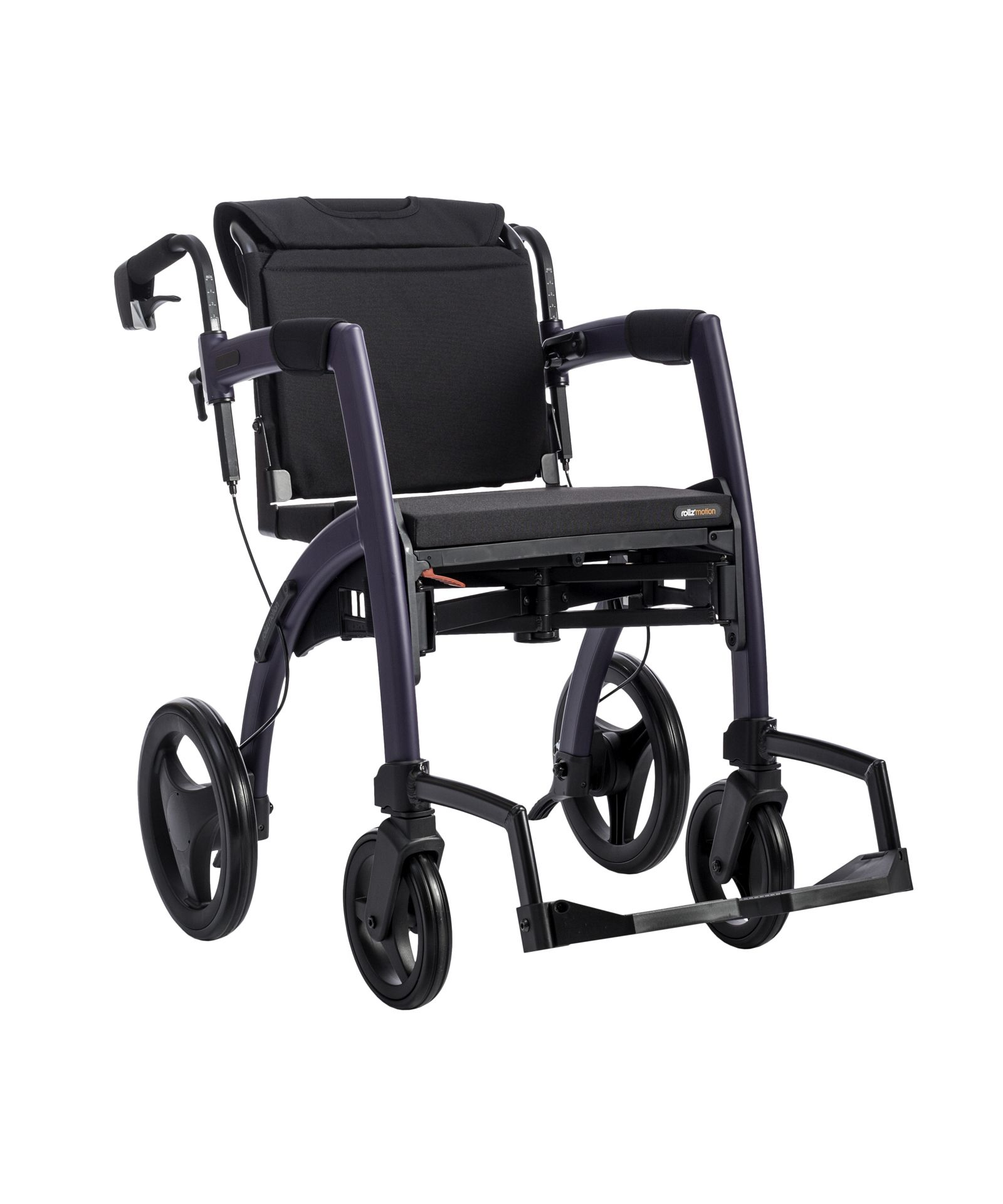 Motion rollator, the 2in1 rollator and wheelchair in