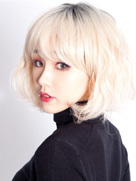 Pin By Jenny Chou On Hairstyles In 2019 Blonde Hair Korean