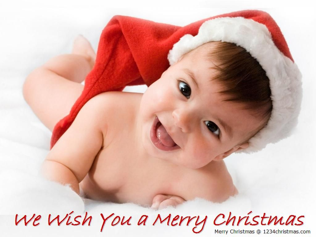 Christmas Baby Wallpaper Download