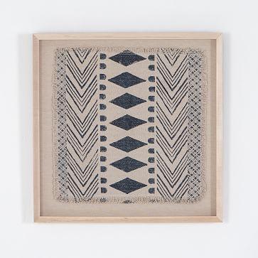 Susannah Framed Textile Art Framed Fabric Wall Art Textile Wall Art Fabric Wall Art
