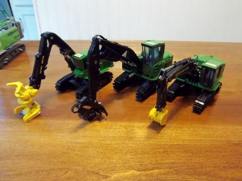 Ertl John deere Forestry equipment | Model Farm | Farm toys, Tractors