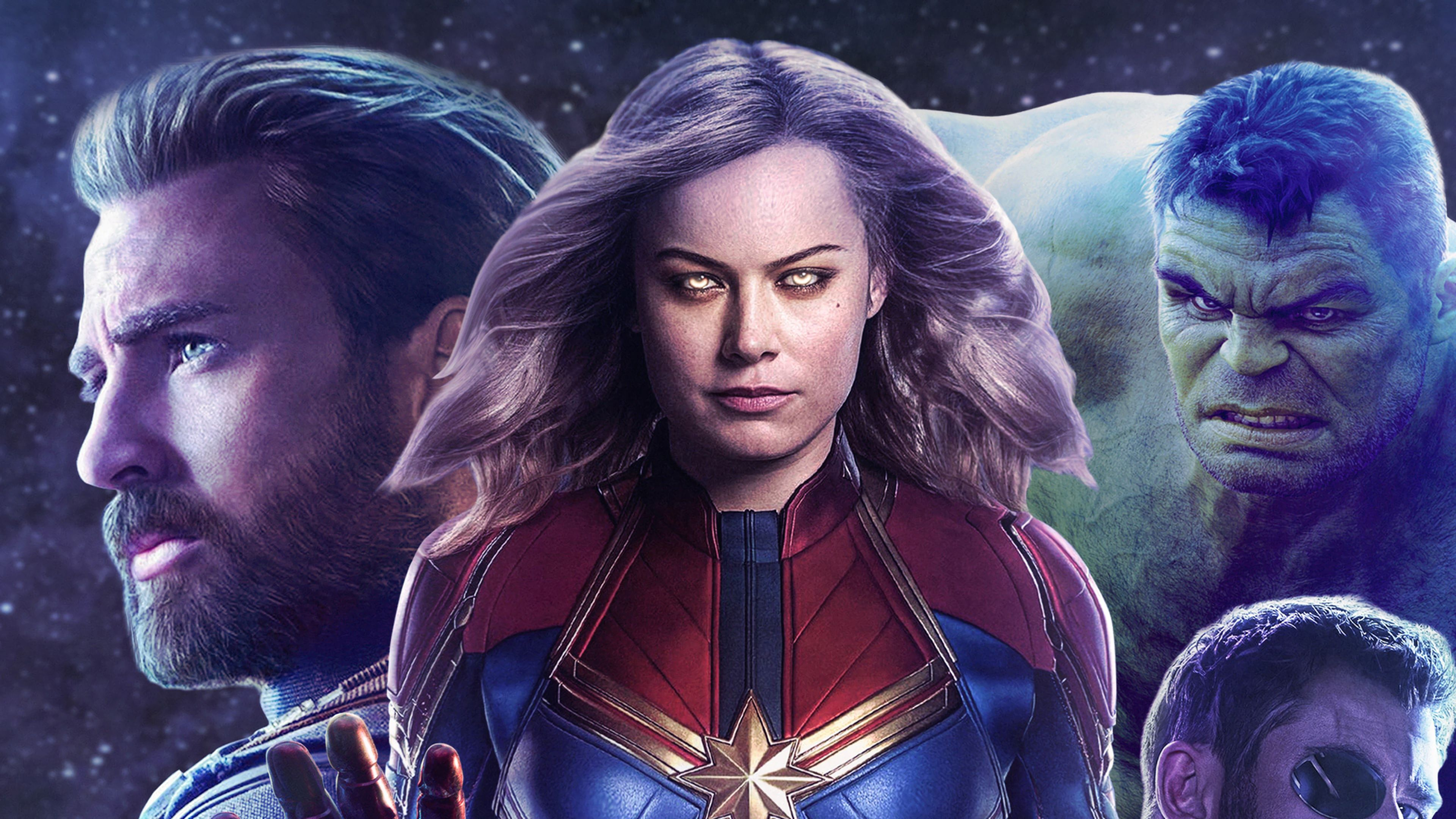 Captain Marvel Movie 2019 Hulk Captain America 4k Wallpaper The Hulk Captain Marvel Movie 2019 Captain Marvel Carol Dan Avengers Marvel Thor Marvel Movies