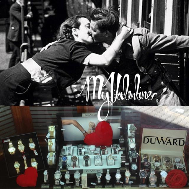 Be my Valentine! Escaparate de #SanValentín #Relojes #Duward