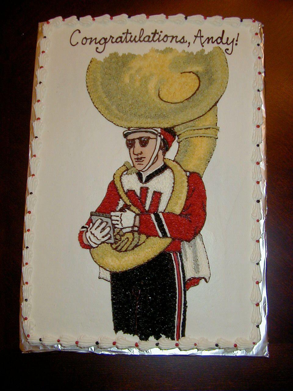 Tuba player   Birthday Cakes for Children   Pinterest