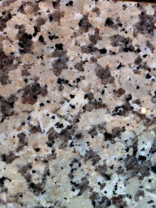 Crema Caramel Granite Counter Tops In Kitchen Our New
