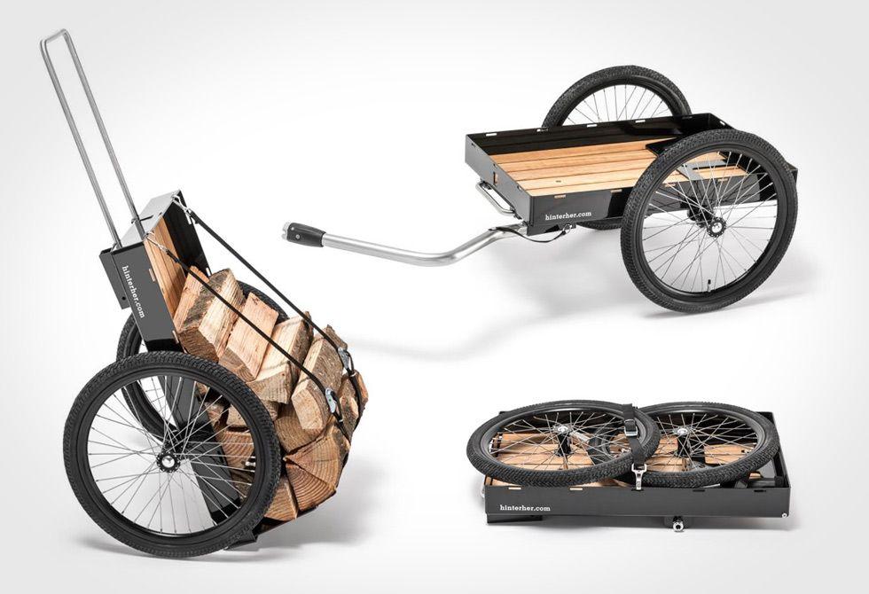 e5cf72350 HH Max Cargo Bike Trailer   BIKES   Remolque para bicicleta, Carrito ...