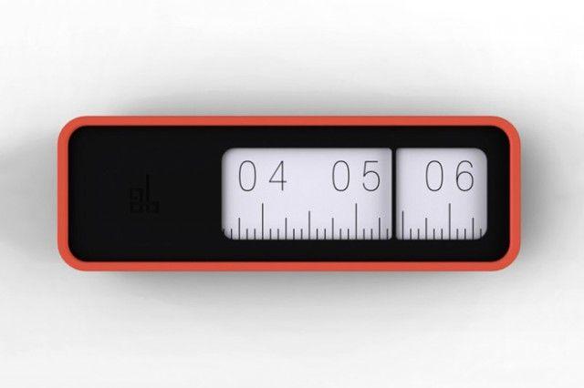 Lineaire klok -    noowznl design de-lineaire-klok  S - küchen wanduhren design