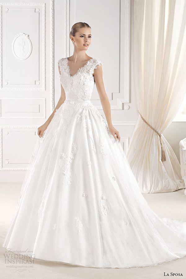 La Sposa 2015 Wedding Dresses — Glamour Bridal Collection ...
