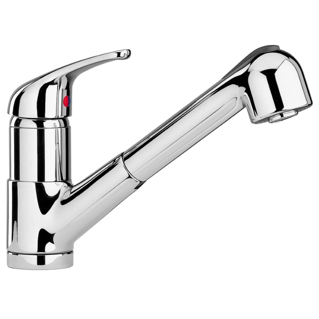 Paini Creta Pull Out Spray Kitchen Sink Mixer 42CR568UK   Paini ...