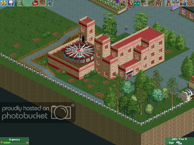 RCT2 Huron Park - Theme Park Review | Gaming | Roller