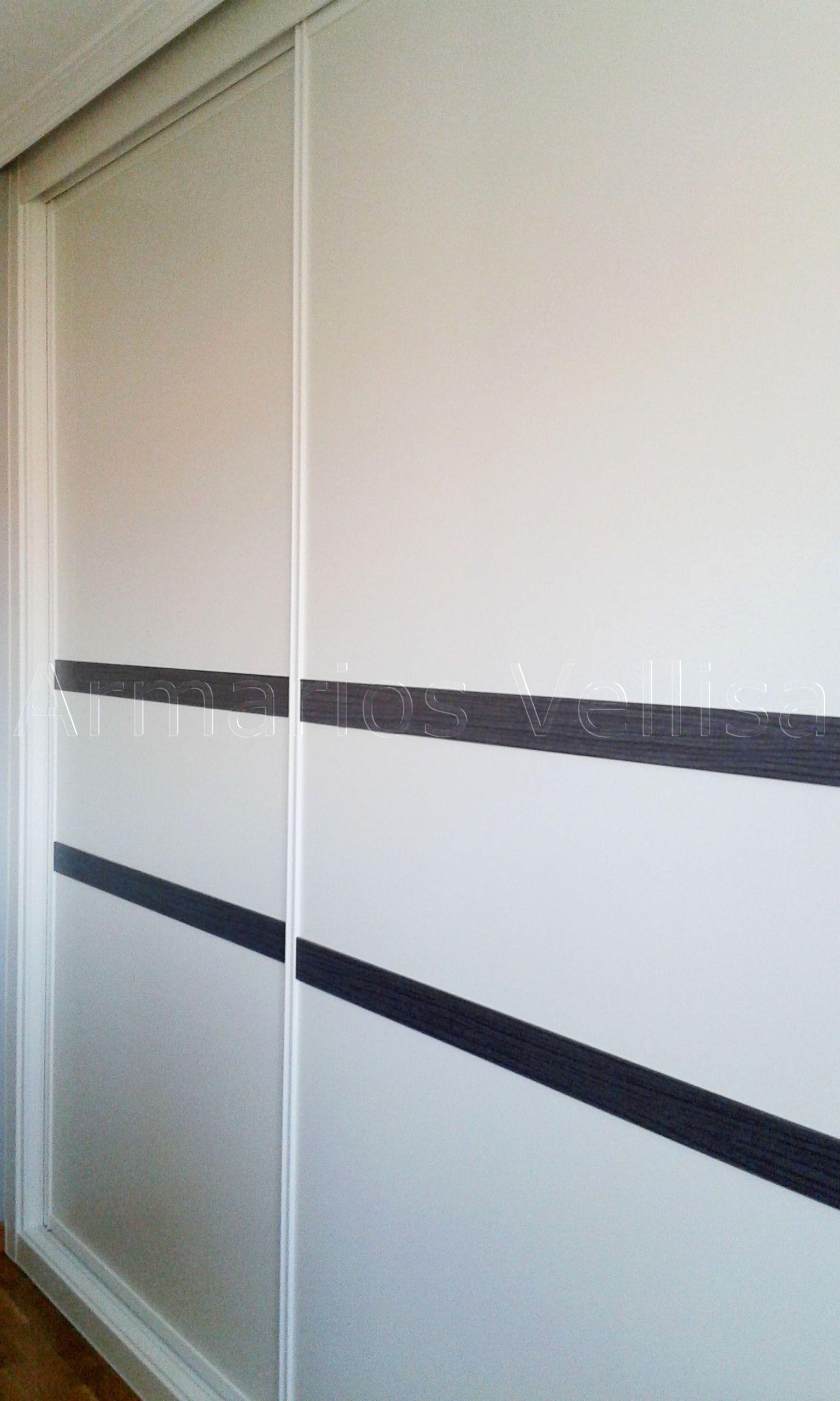 Armario Empotrado En Dormitorio Principal 254 X 366 X 67 Puertas  ~ Carriles Para Puertas Correderas