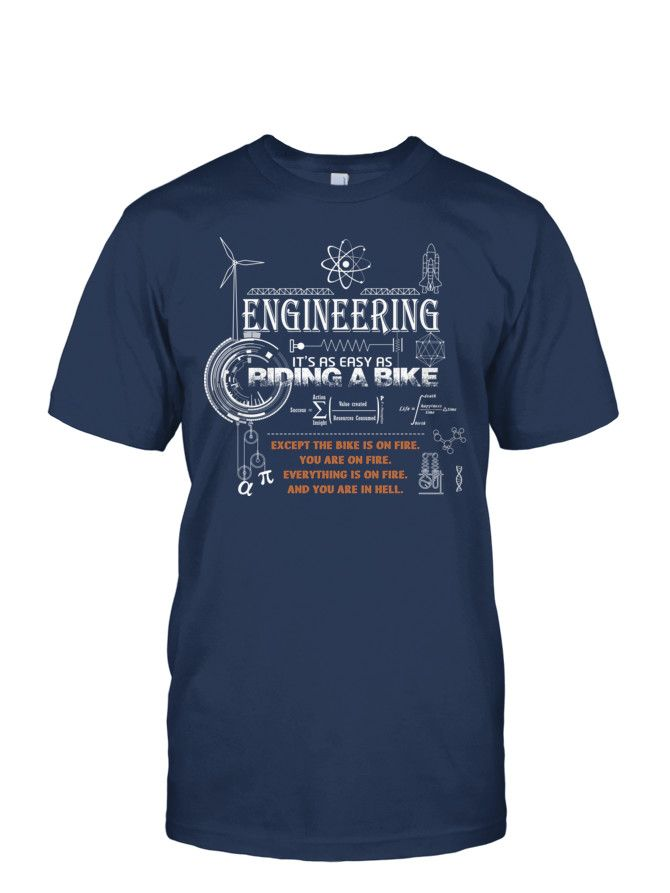 Engineering - easy as riding a bike: Teechip Campaign
