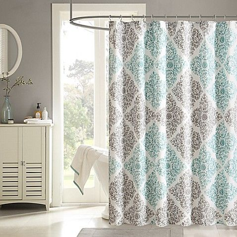 Madison Park Claire Shower Curtain Home Essence Curtains