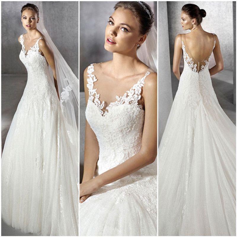modelo zeilena de san patrick. vestido de novia corte princesa