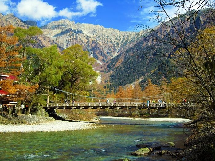 Kappa Bridge Kamikochi The Real Japan Landscape