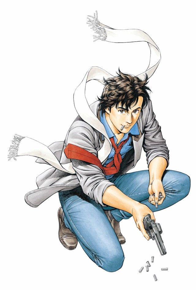 Pin On Anime And Manga City hunter anime wallpaper hd