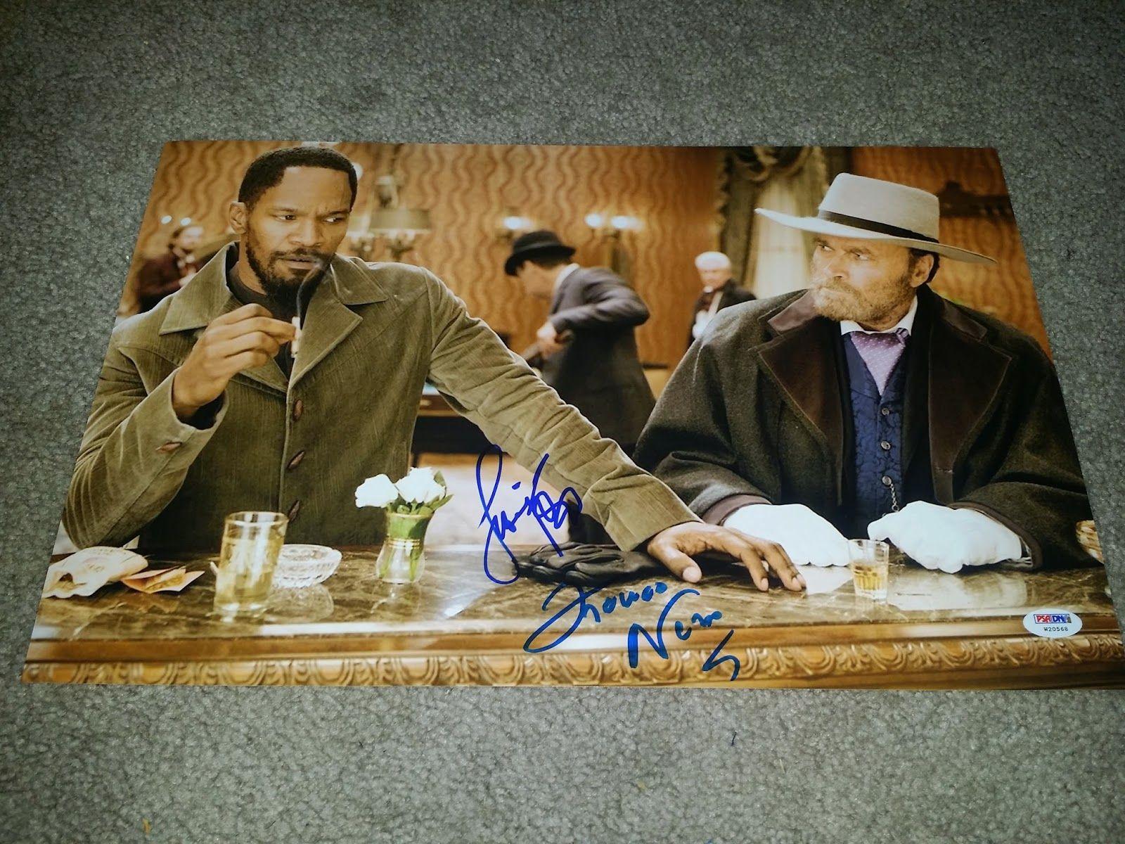 Franco Nero of Django Unchained! Autographs! Photos ...