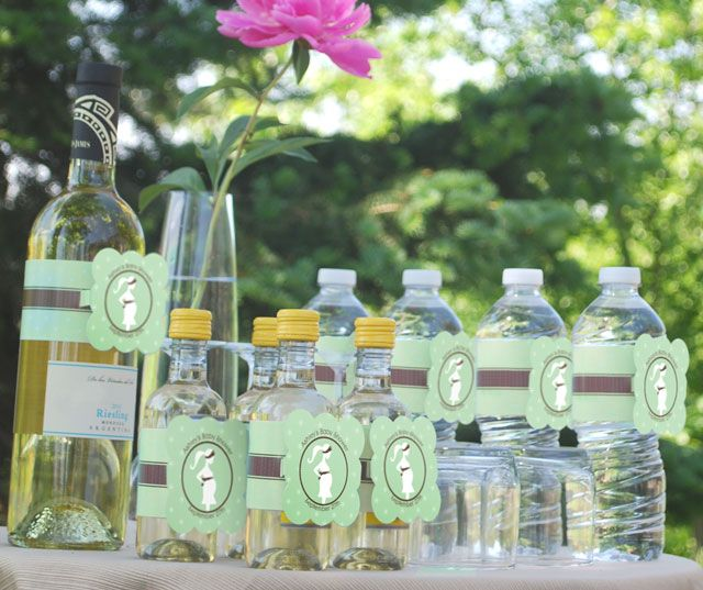 Cute Water Bottle Decorating Ideas Super Cute Personalized Water Bottle Labels Work On Wine Bottles & Cute Water Bottle Decorating Ideas | Decorative Design