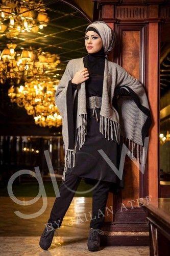 Fall hijab fashion by Jailan Atef | Just Trendy Girls