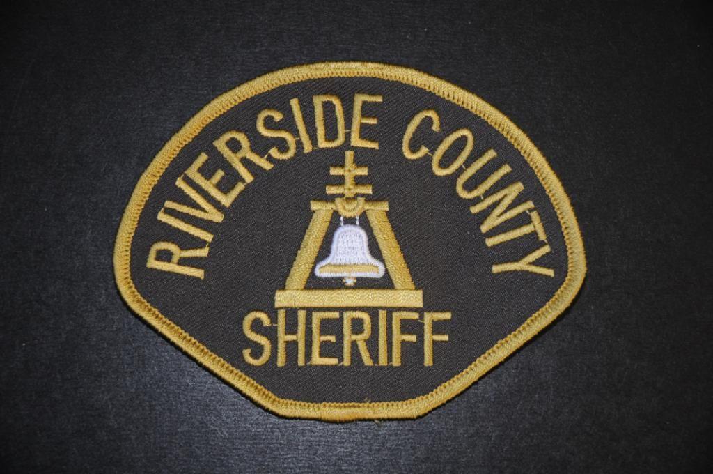 Sheriff Coroner Riverside County California Riverside County Sheriff Police Patches Police Badge