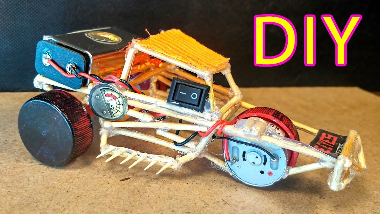 How To Make a Electric Buggy Car Super Fast Mini Toy