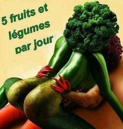 Un amour de legumes et fruits 5 fois par jour art culinaire pinterest - Difference fruit et legume ...