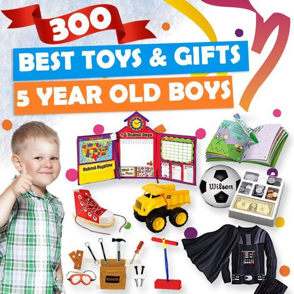 Gifts For 5 Year Old Boys 2019 - List of Best Toys (With ...
