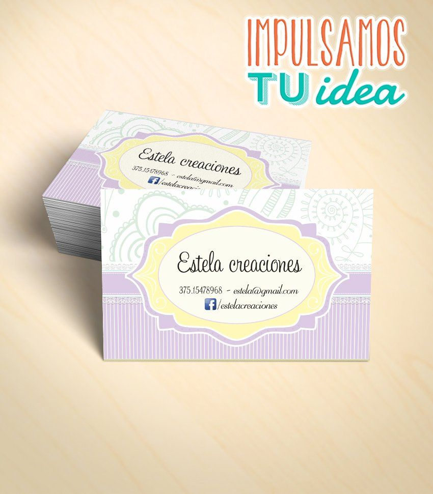 Decoración de interiores - Tarjeta personal para imprimir | IDEAS ...