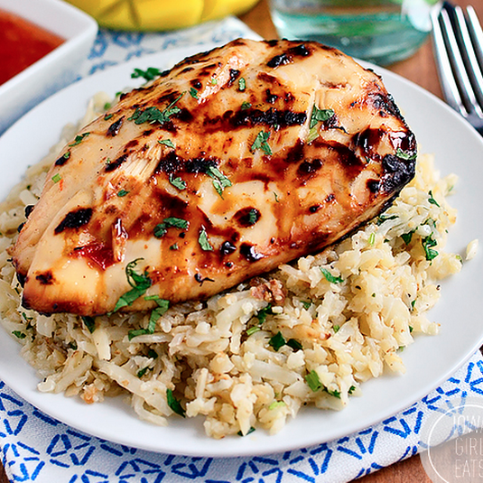 Sweet Chili Coconut-Lime Grilled Chicken with Coconut-Lime ...